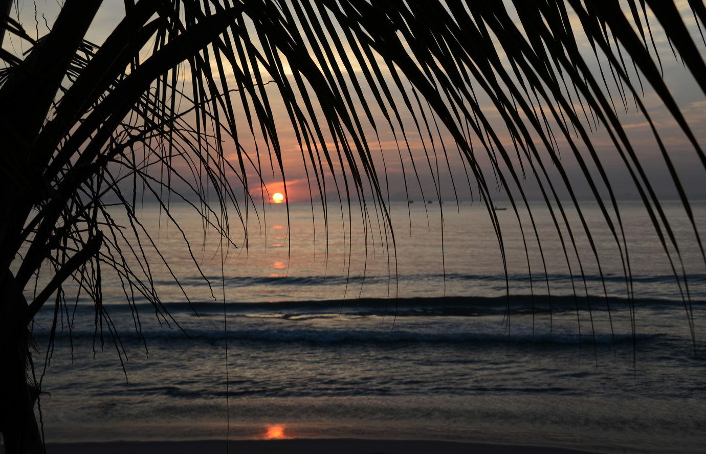 Romantický večer na Sri Lance