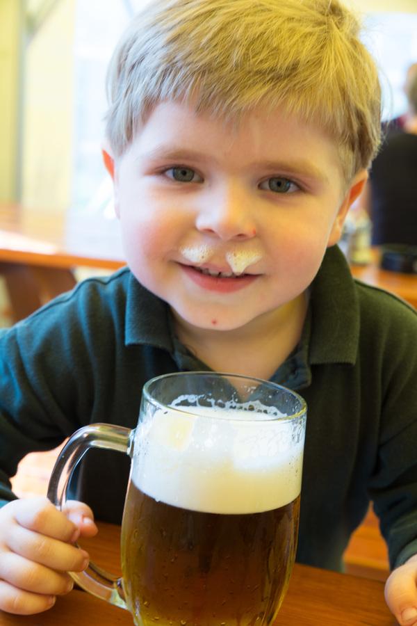 Na pivě...