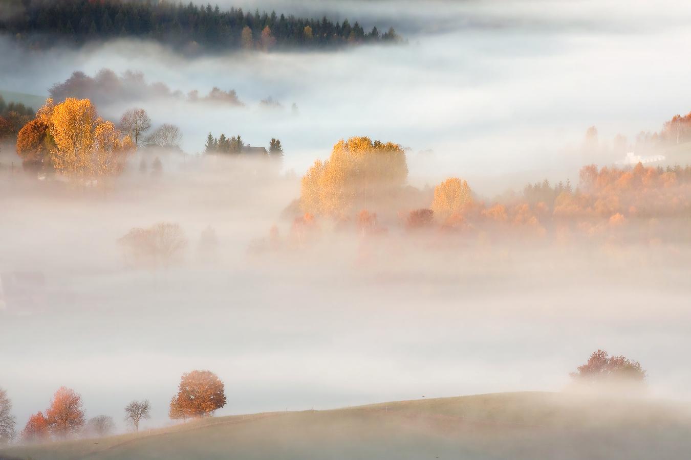 ...ráno v horách Krušných