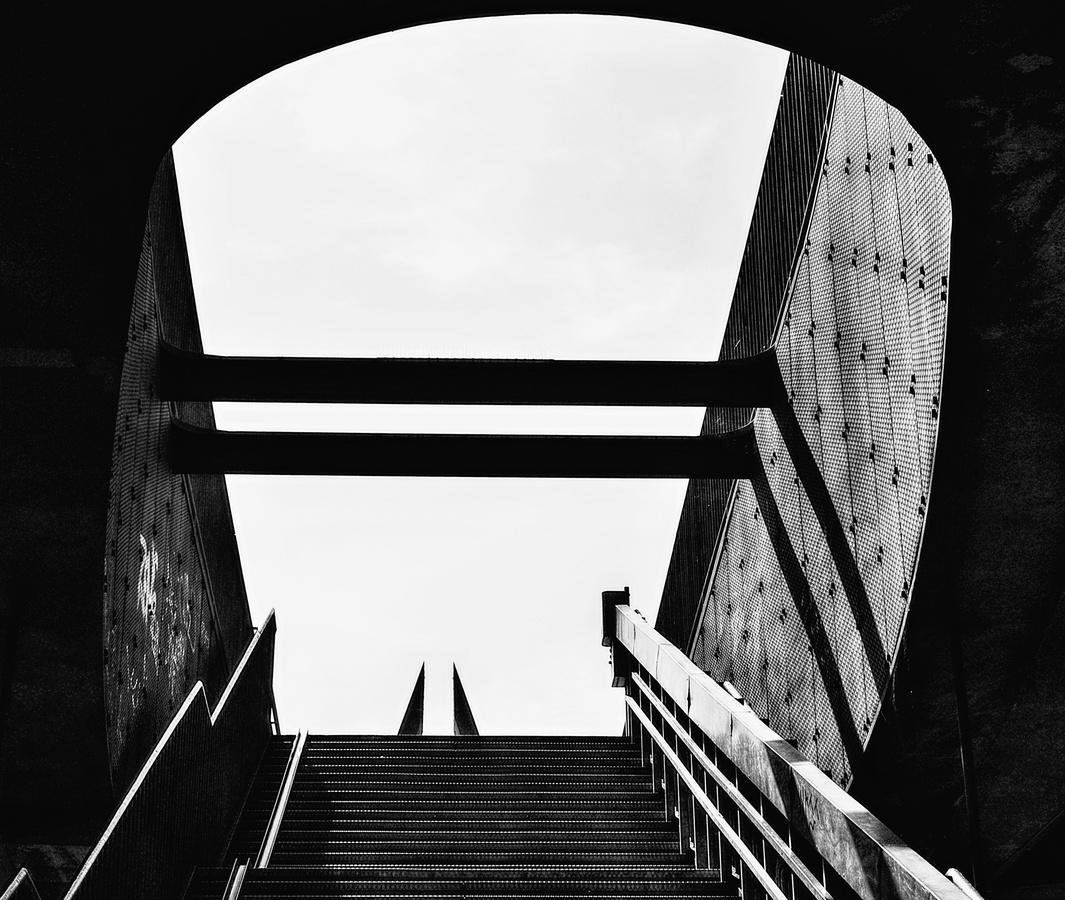 Vstup na Mariánský most