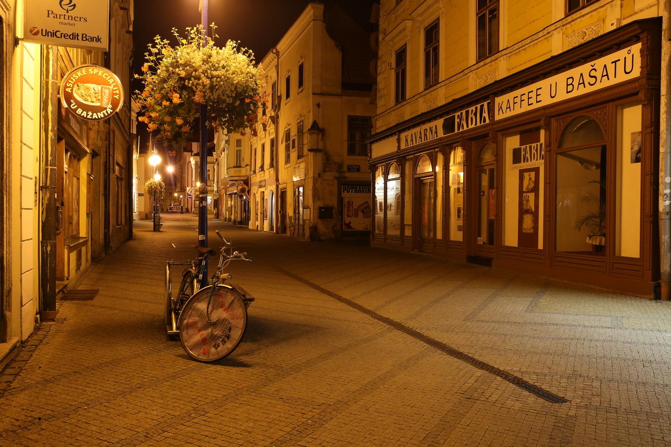Pod lampou Jindřichův Hradec
