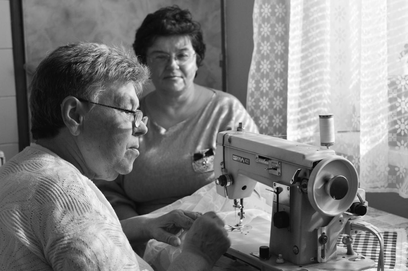 Babička s mamkou