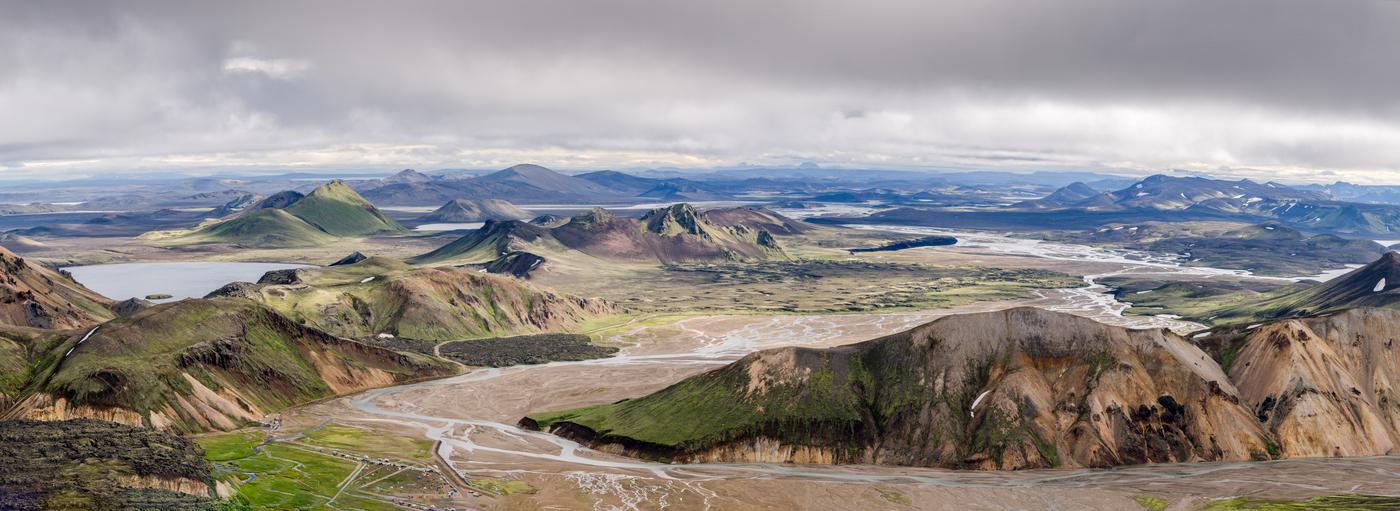 Duhové hory - Island