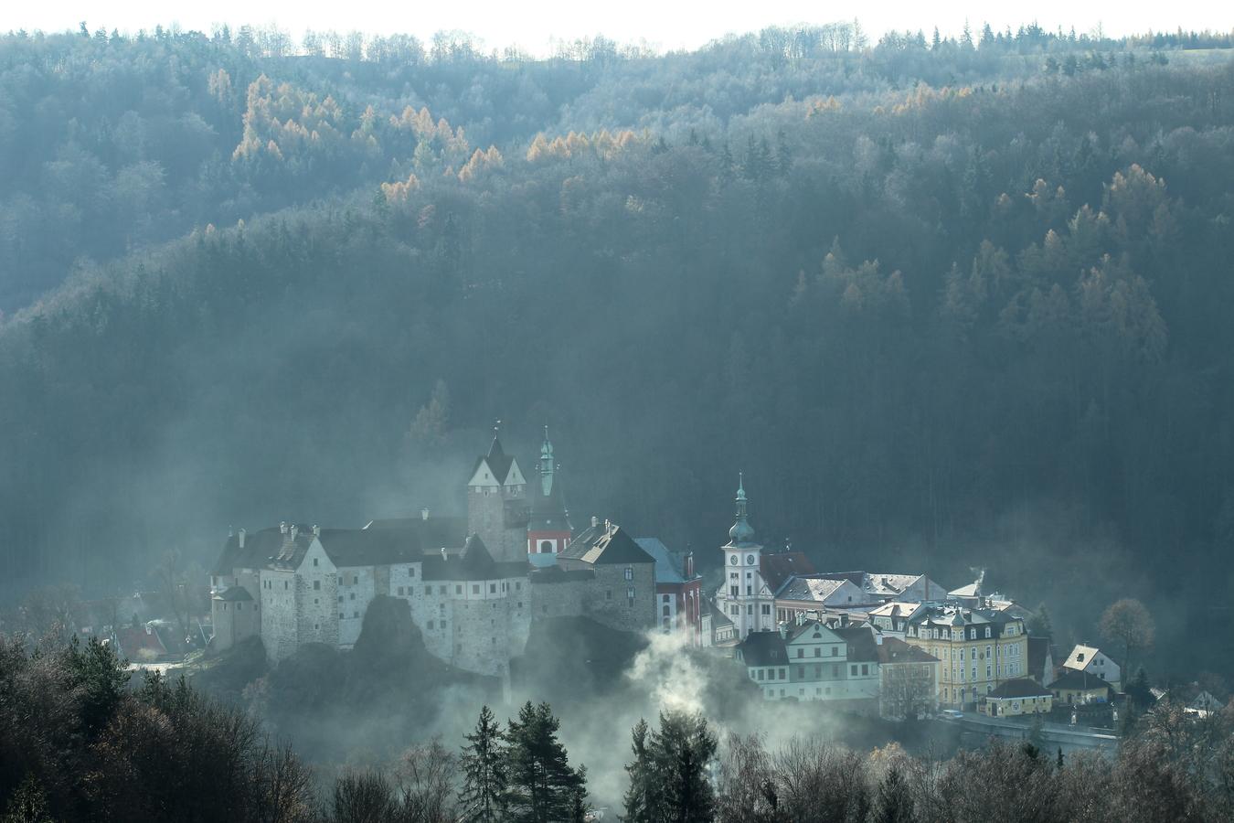 Pohádkový hrad Loket