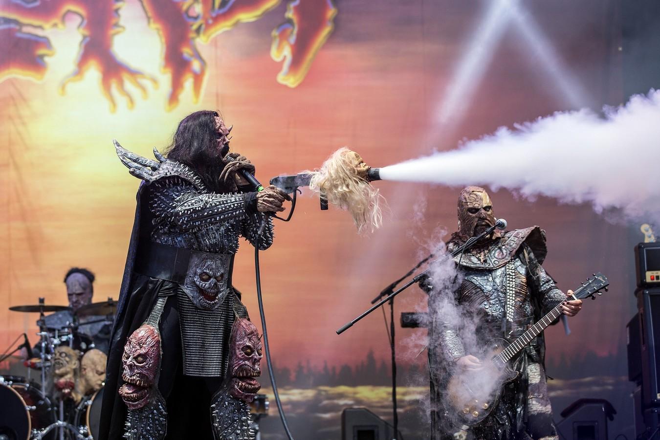 Lordi na Metalfestu 2016