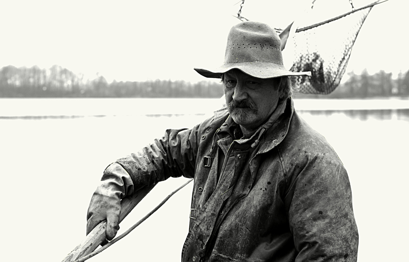 Portrét rybáře.