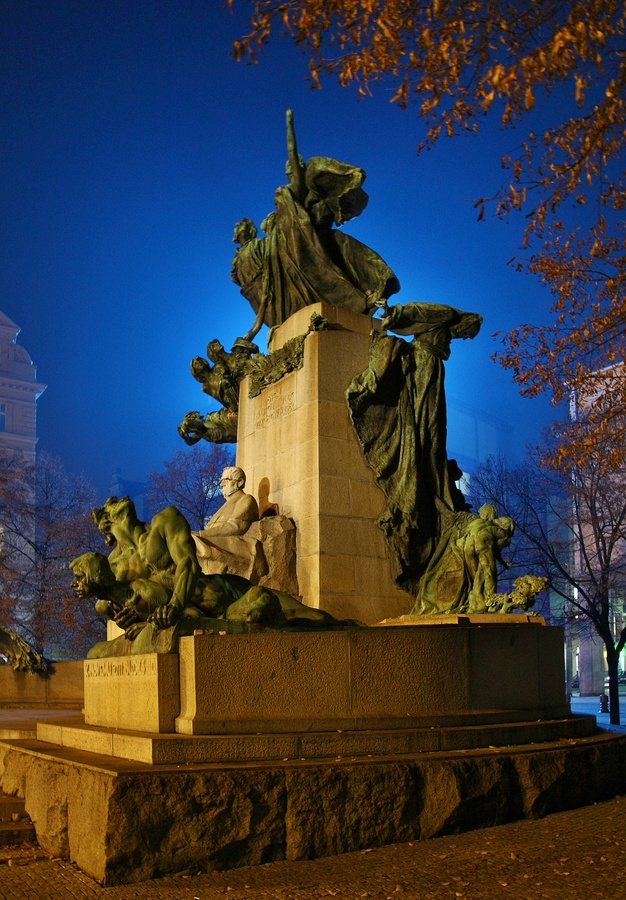 Pomník Fr.  Palackého