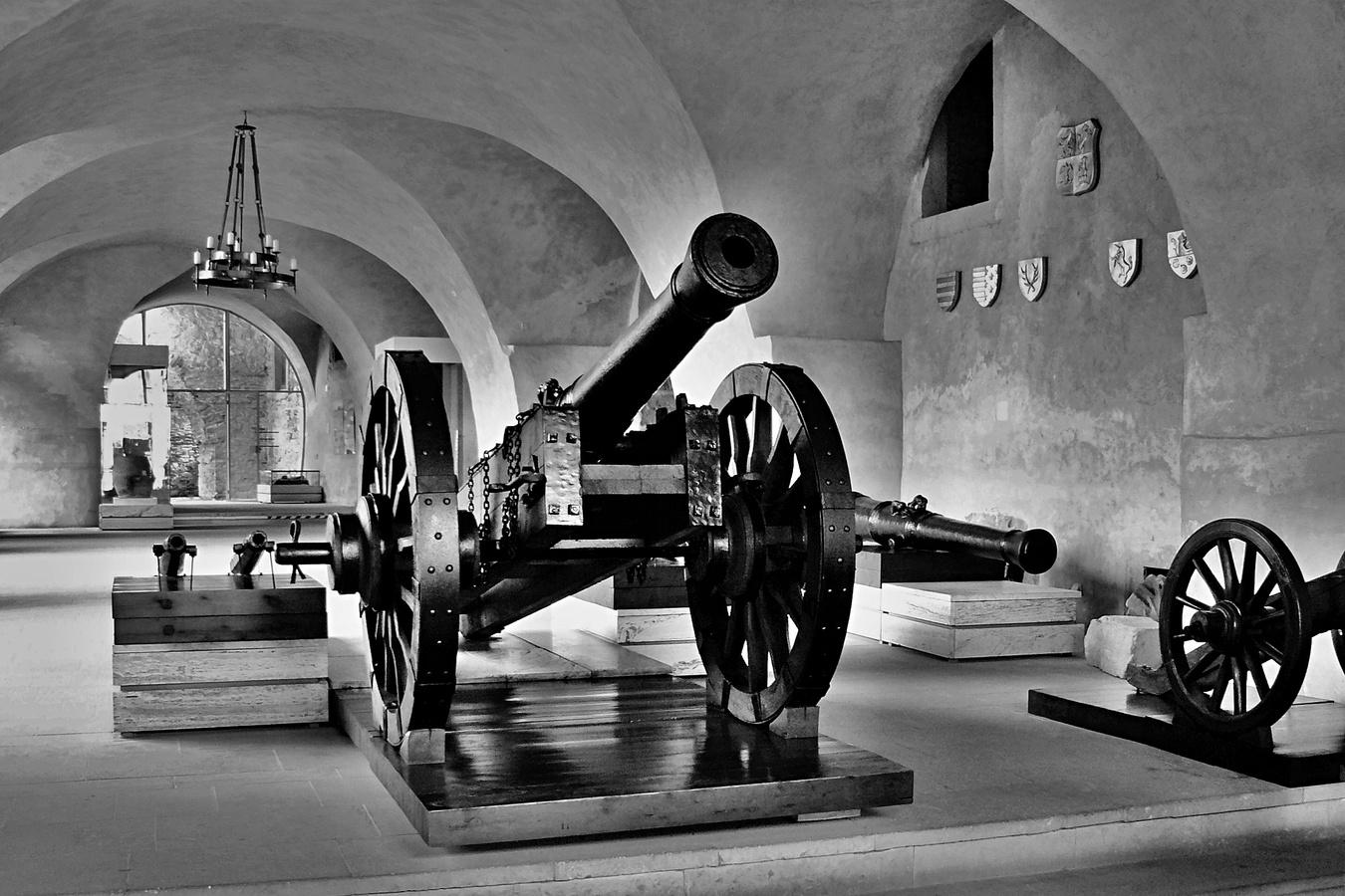 Interiér Spišského hradu