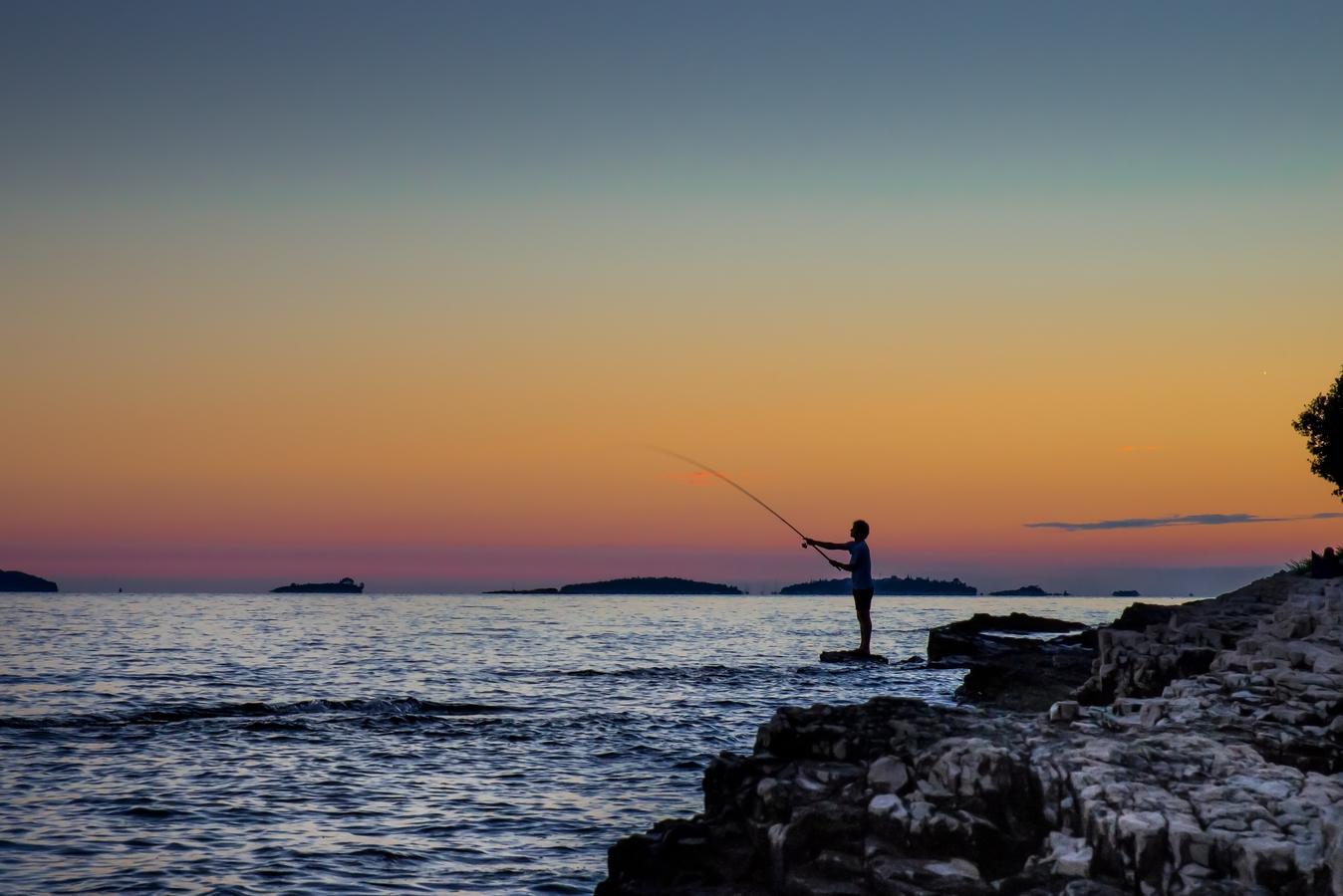 na rybach ...
