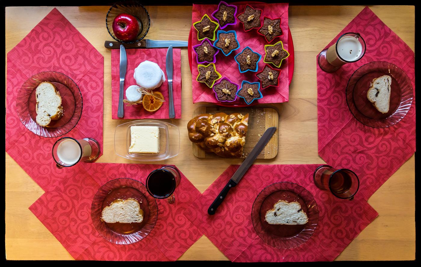 Vánoční snídaně