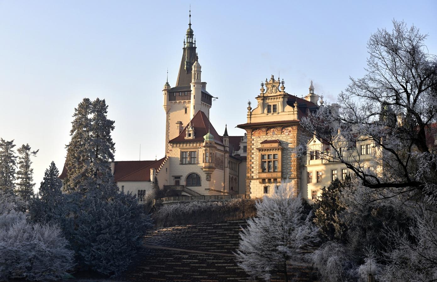 Pruhonický zámek