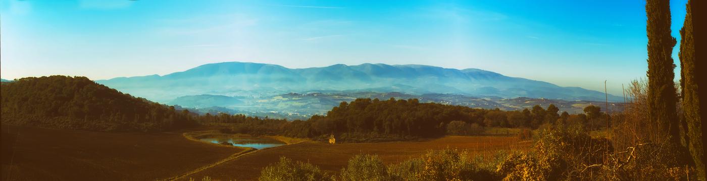 Pohľad na krajinu