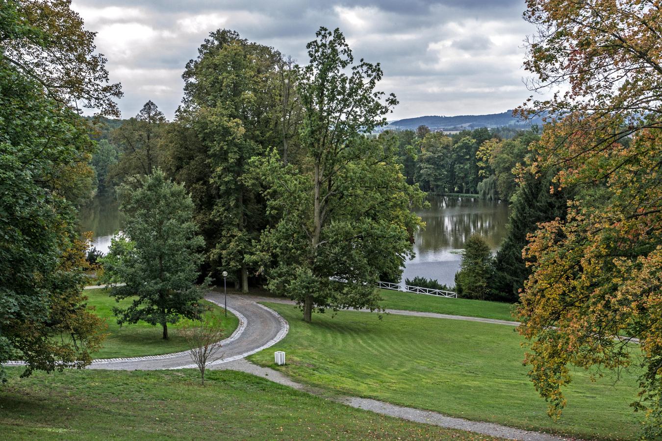 Zámecký park Kozel