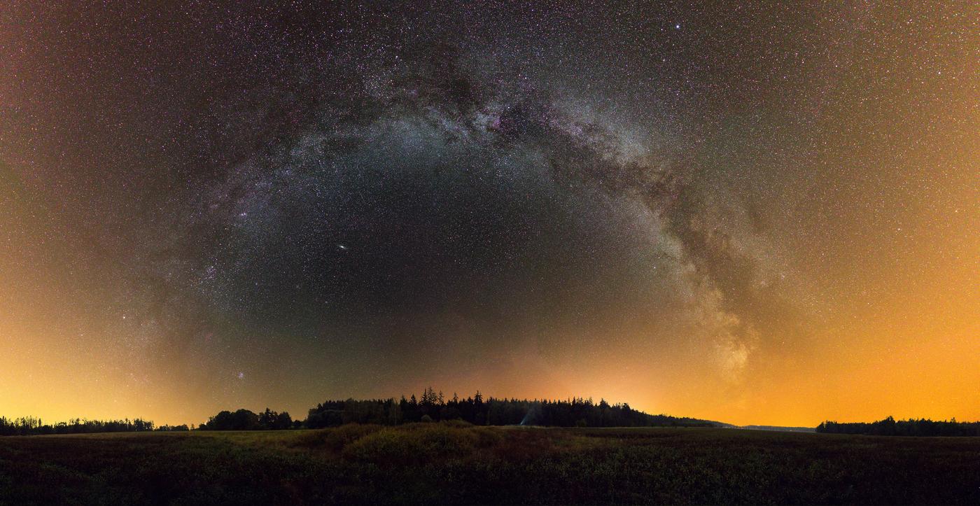 Mléčná dráha ve Zbraslavicích
