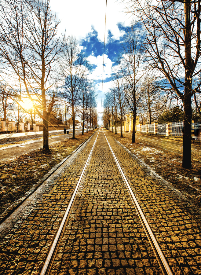 Kudy jezdí tramvaj