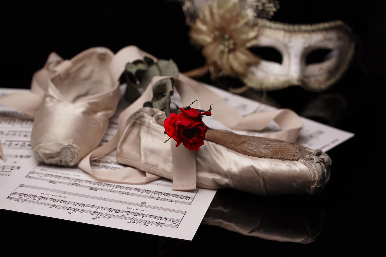 Padlá baletka
