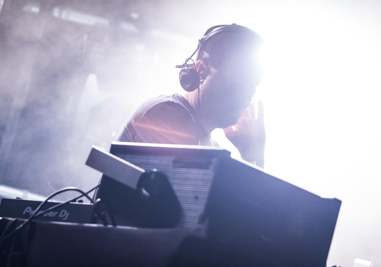 Eric Prydz na Barcelonským festivalu Sónar