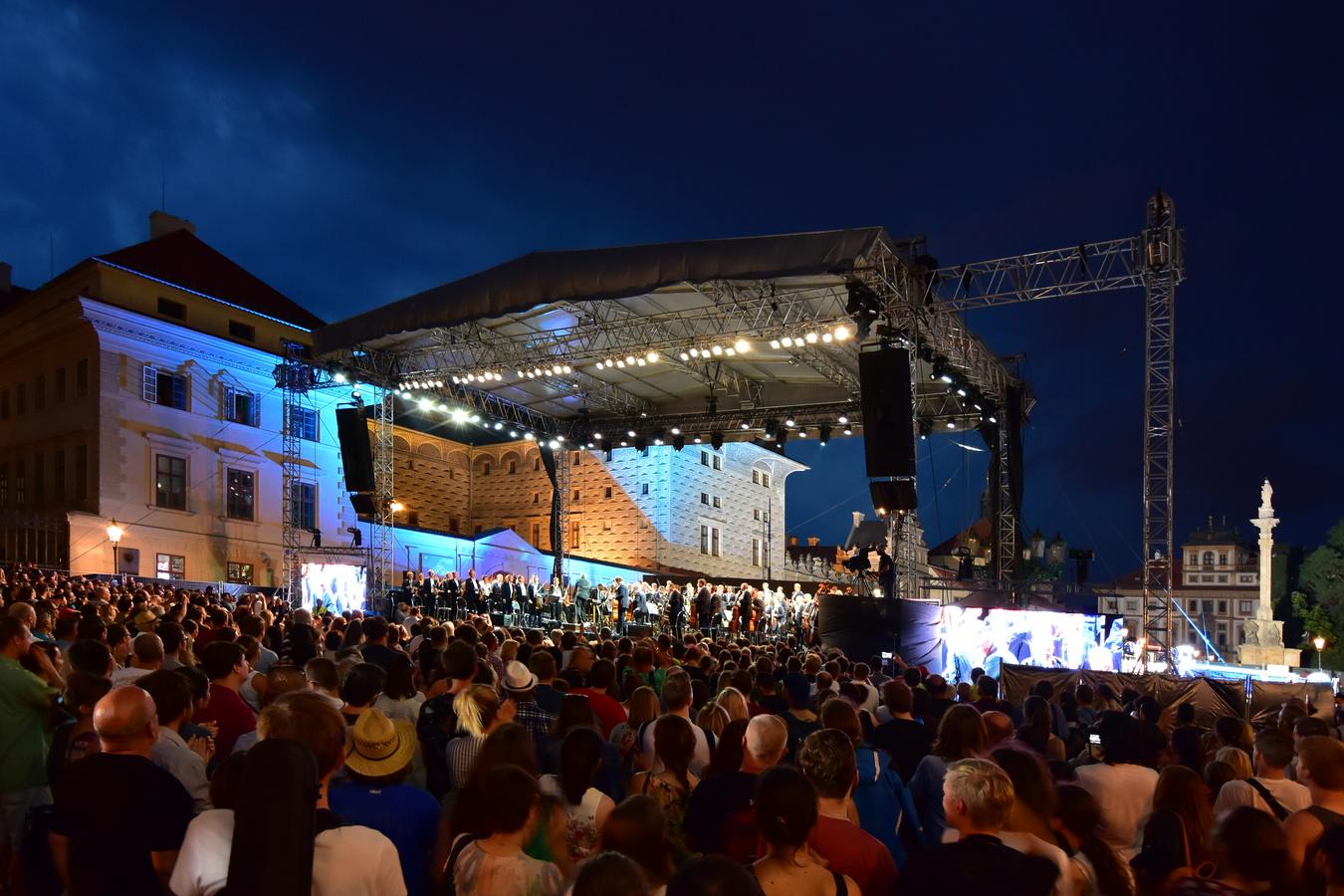 Česká filharmonie Open air koncert 2017