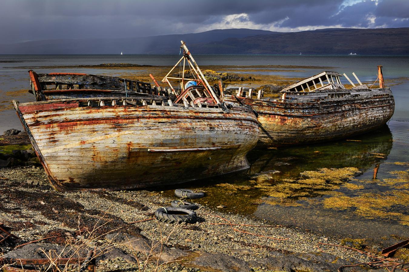 Na rybách ve Skotsku