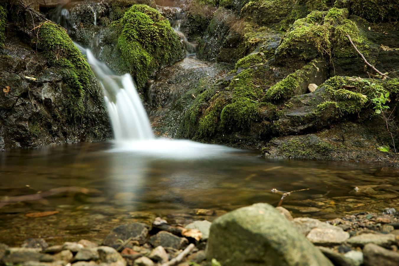 Maličký vodopád