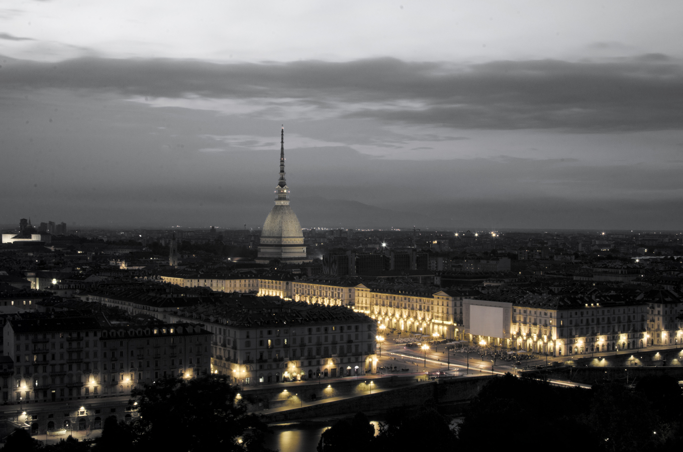 Pohled na Turin