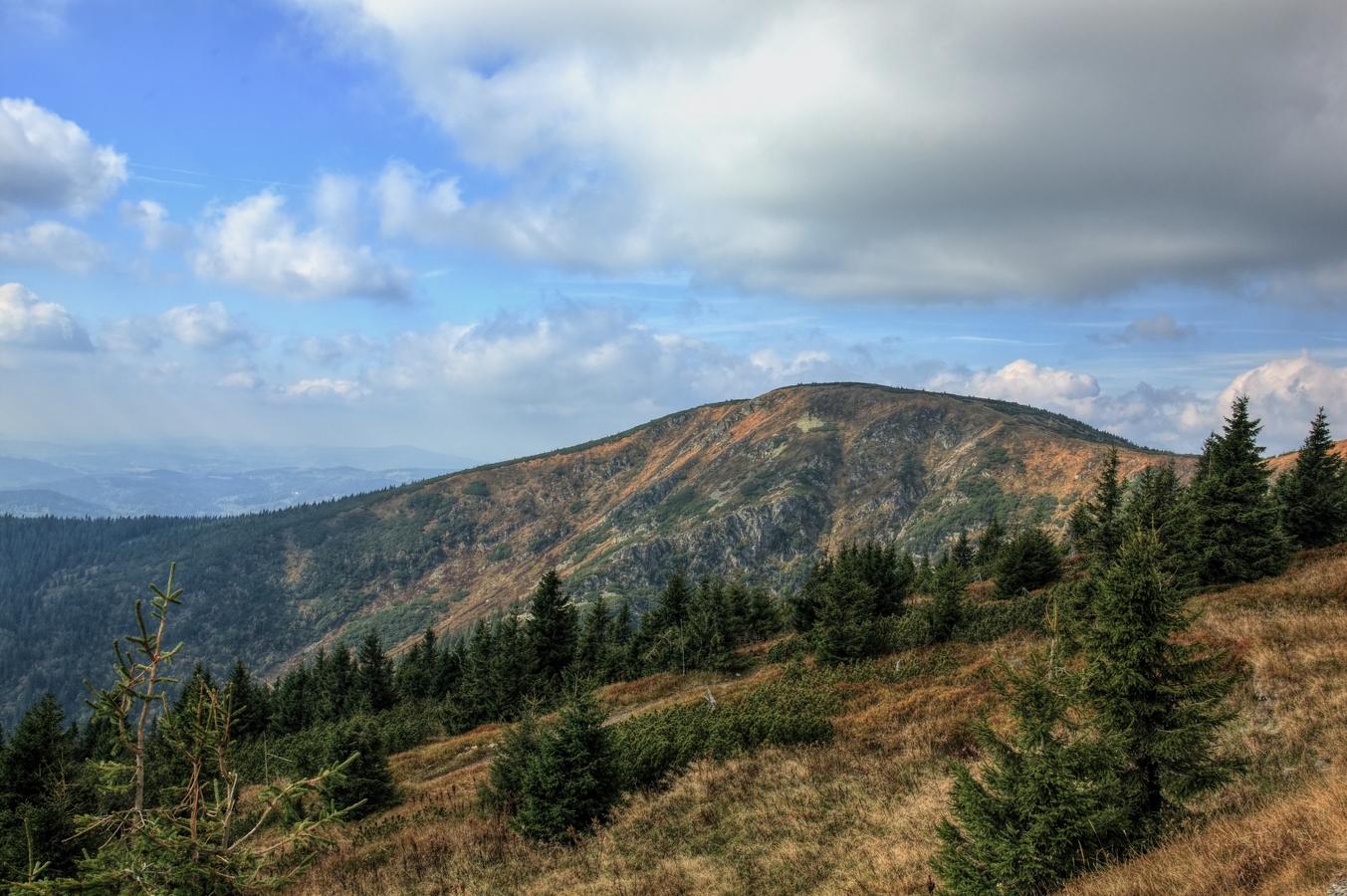 Krkonošské kopce
