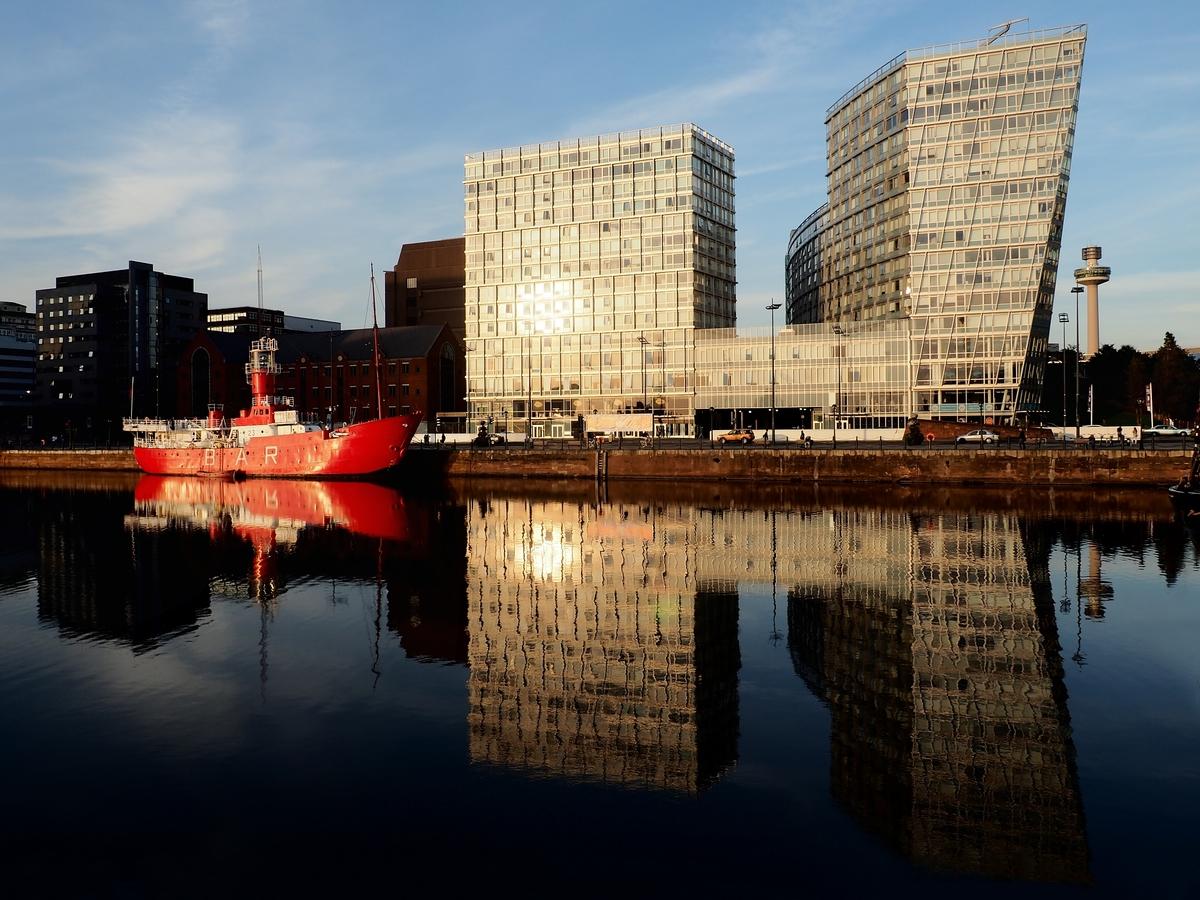 Podvečerní Liverpool