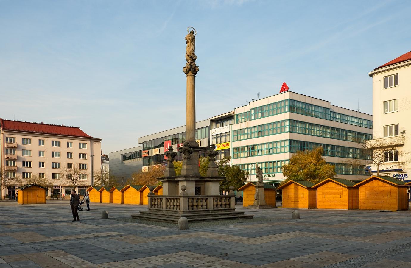 Ostrava-náměstí v centru