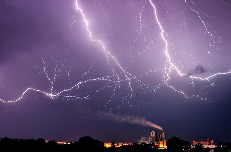 Rachot při bouři