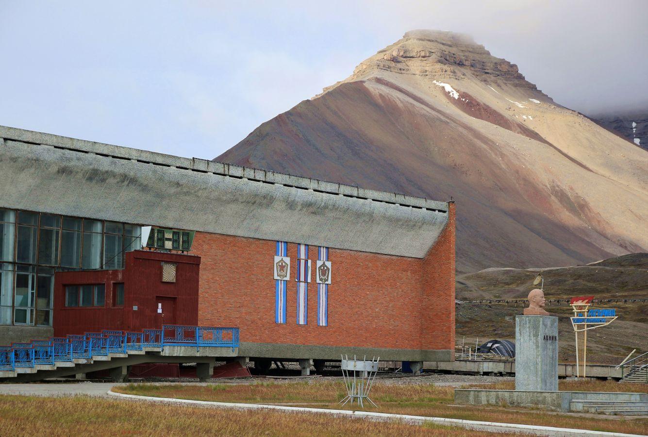 Lenin pod Pyramidou
