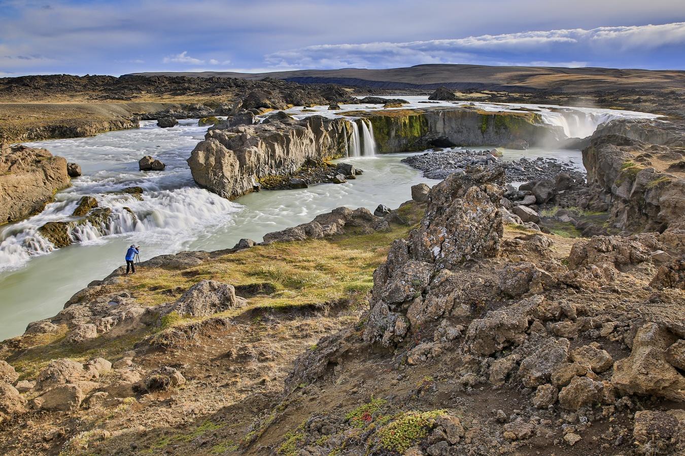 Hrafnabjargafoss,Island