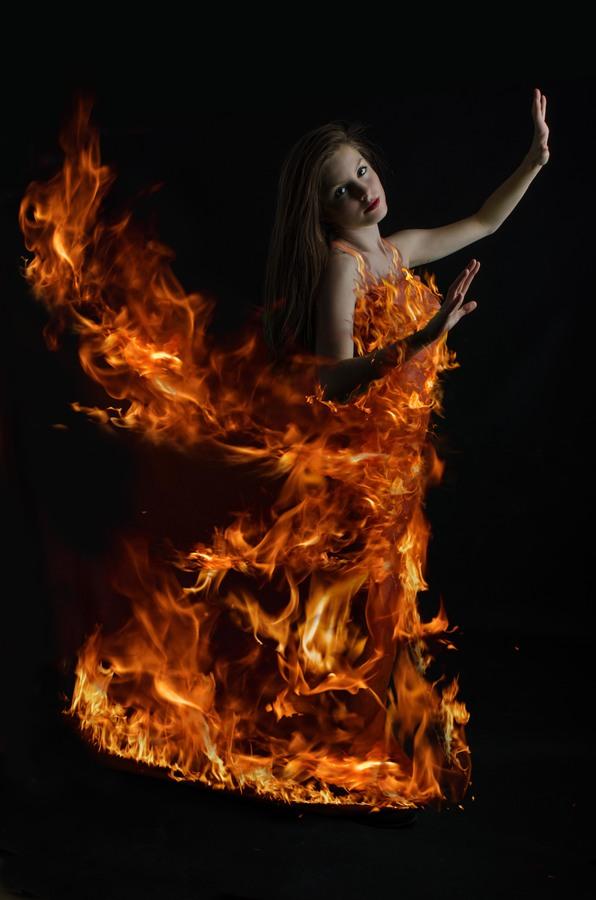 Zapálená