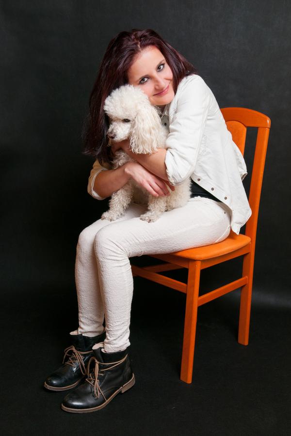 Slečna a pes