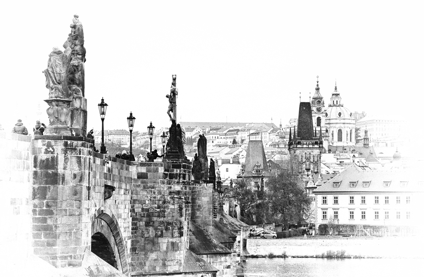 Vedle Karlova mostu