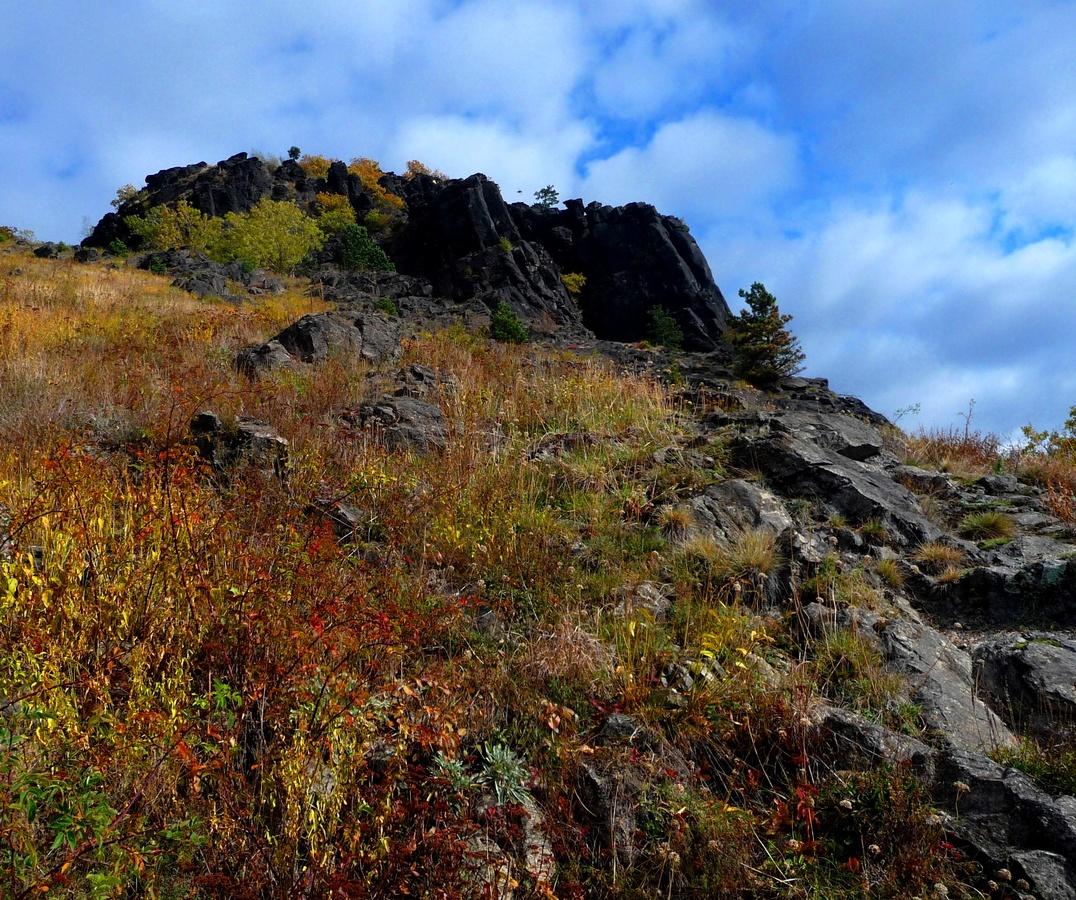 Vedlejší vrcholek Bořně