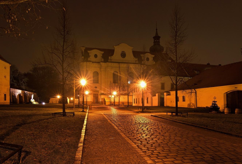 V areálu Břevnovského kláštera
