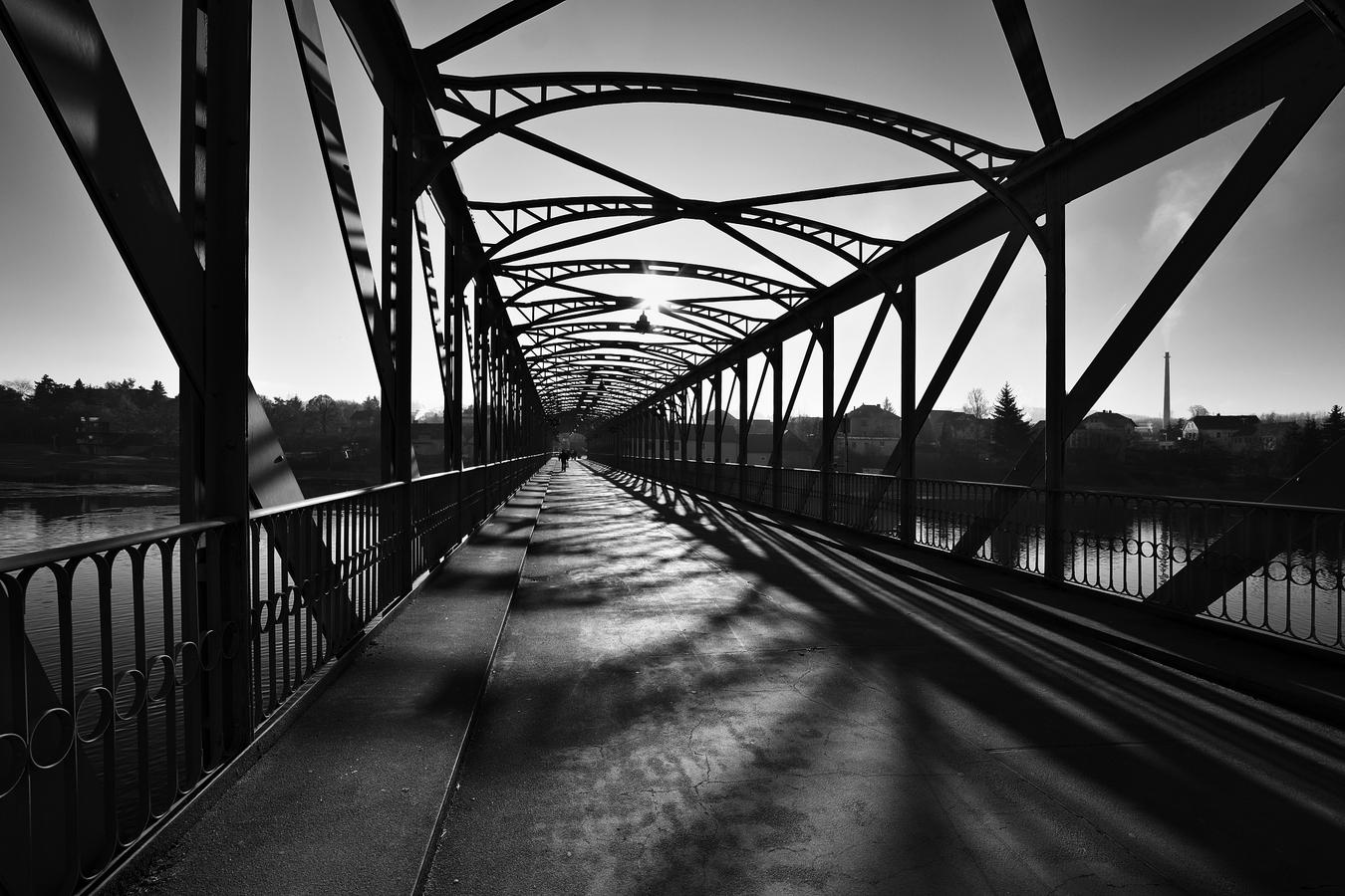 Iron bridge ...