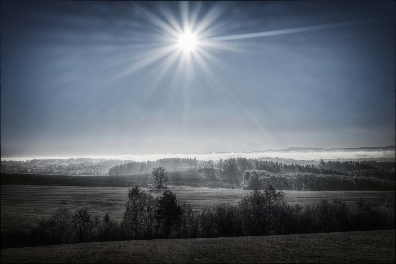 Inverze pod Sluncem