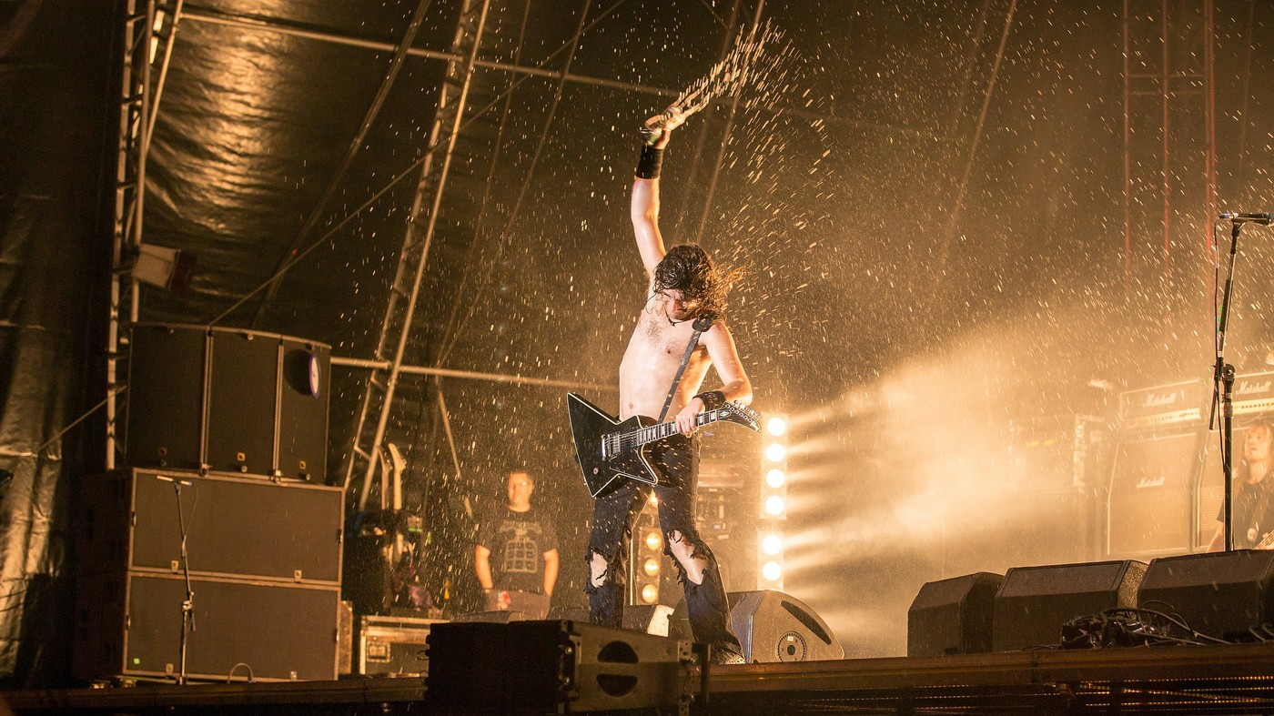 Airbourne na Masters of Rock 2016