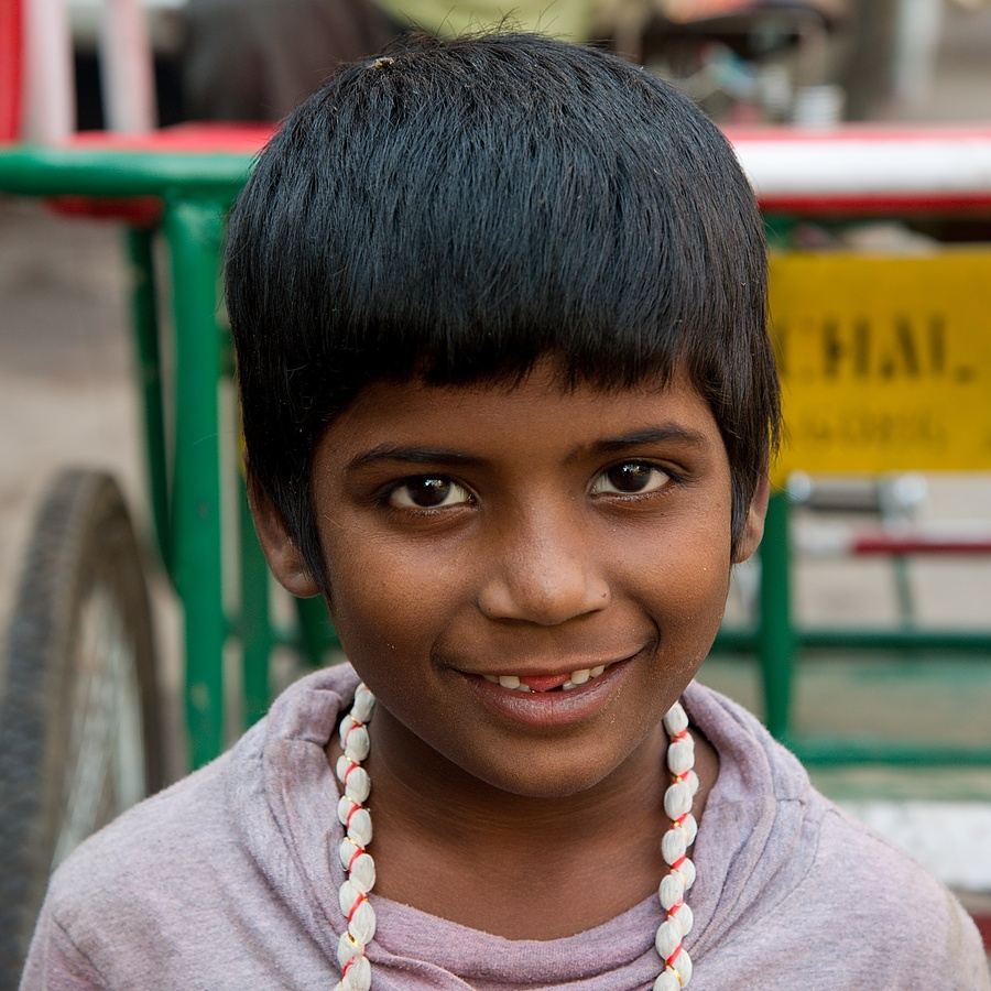 Indická dívenka