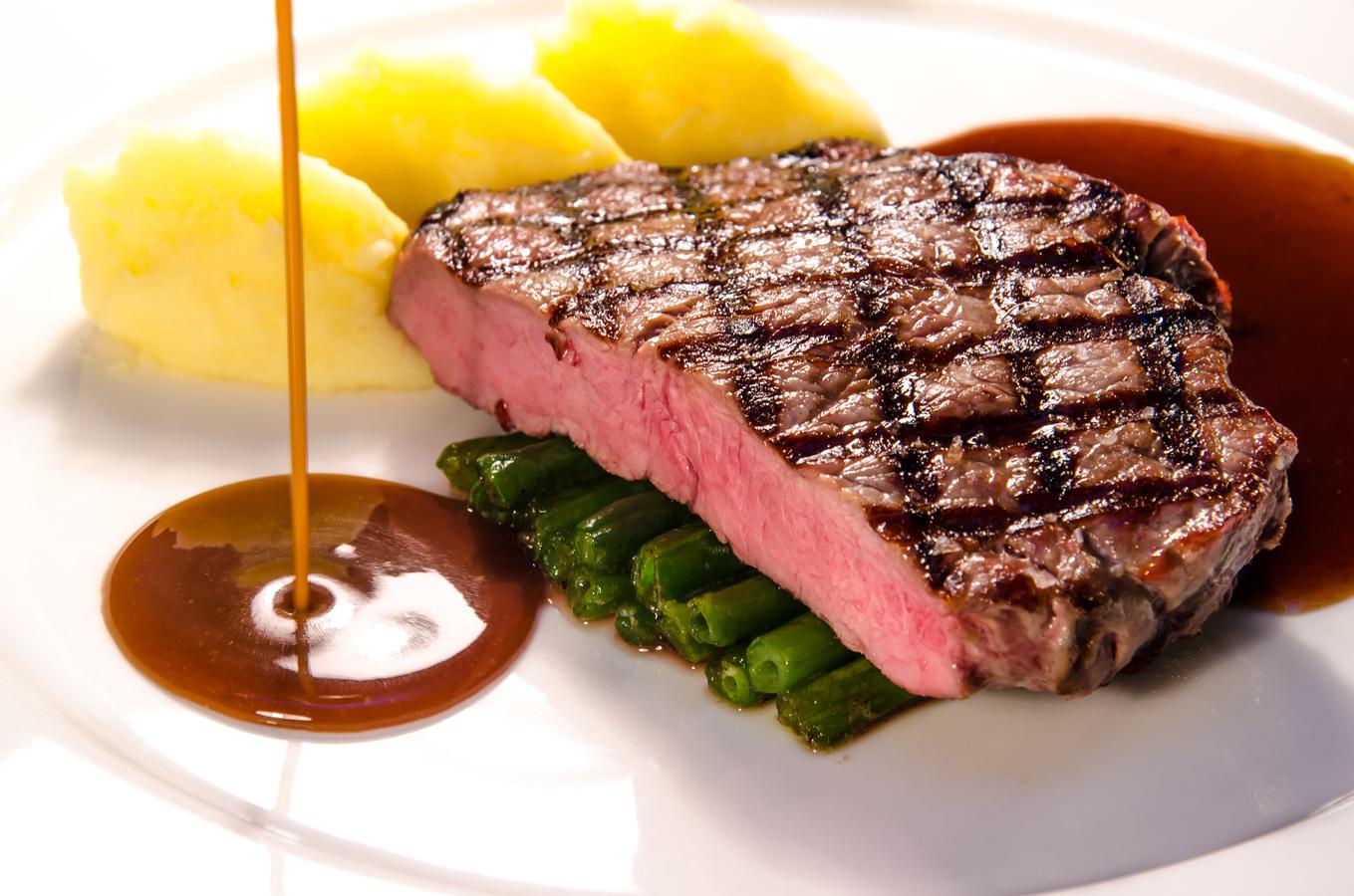 Steak s dokonalou omáčkou