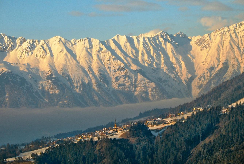 Podvečer pod Alpami