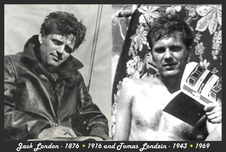 Jack London and Tomas Londzin