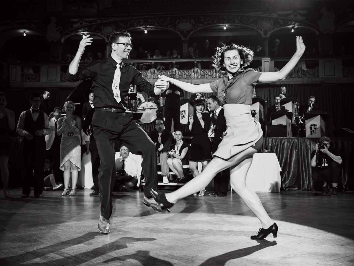 the very best Czech dancers of Swing dance