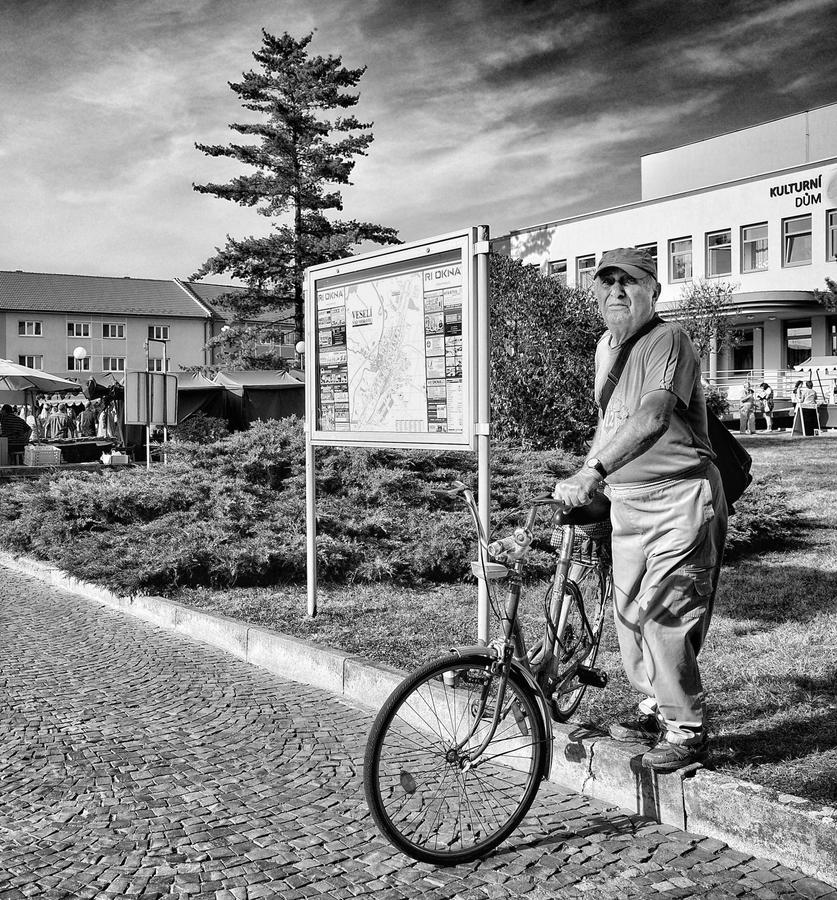 Osamělý cyklista