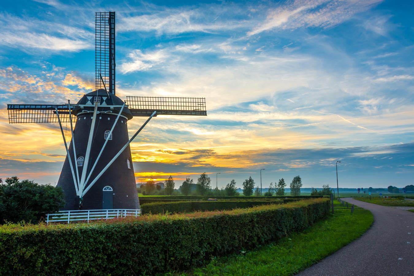 Starý větrný mlýn