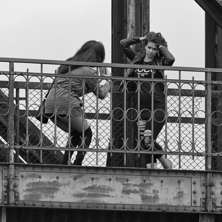 """""""Pipky"""" na mostě"""