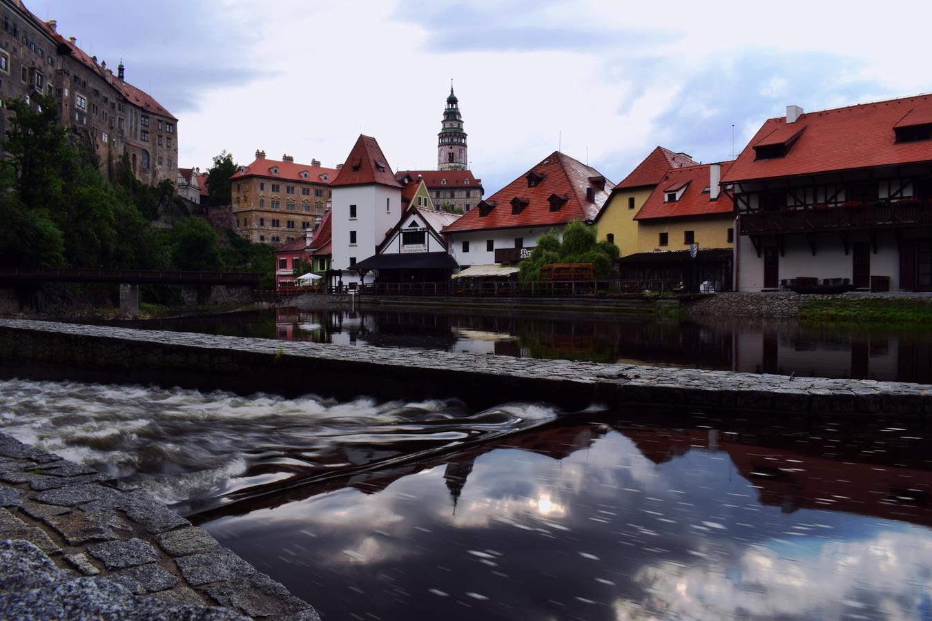 Český Krumlov od Vltavy