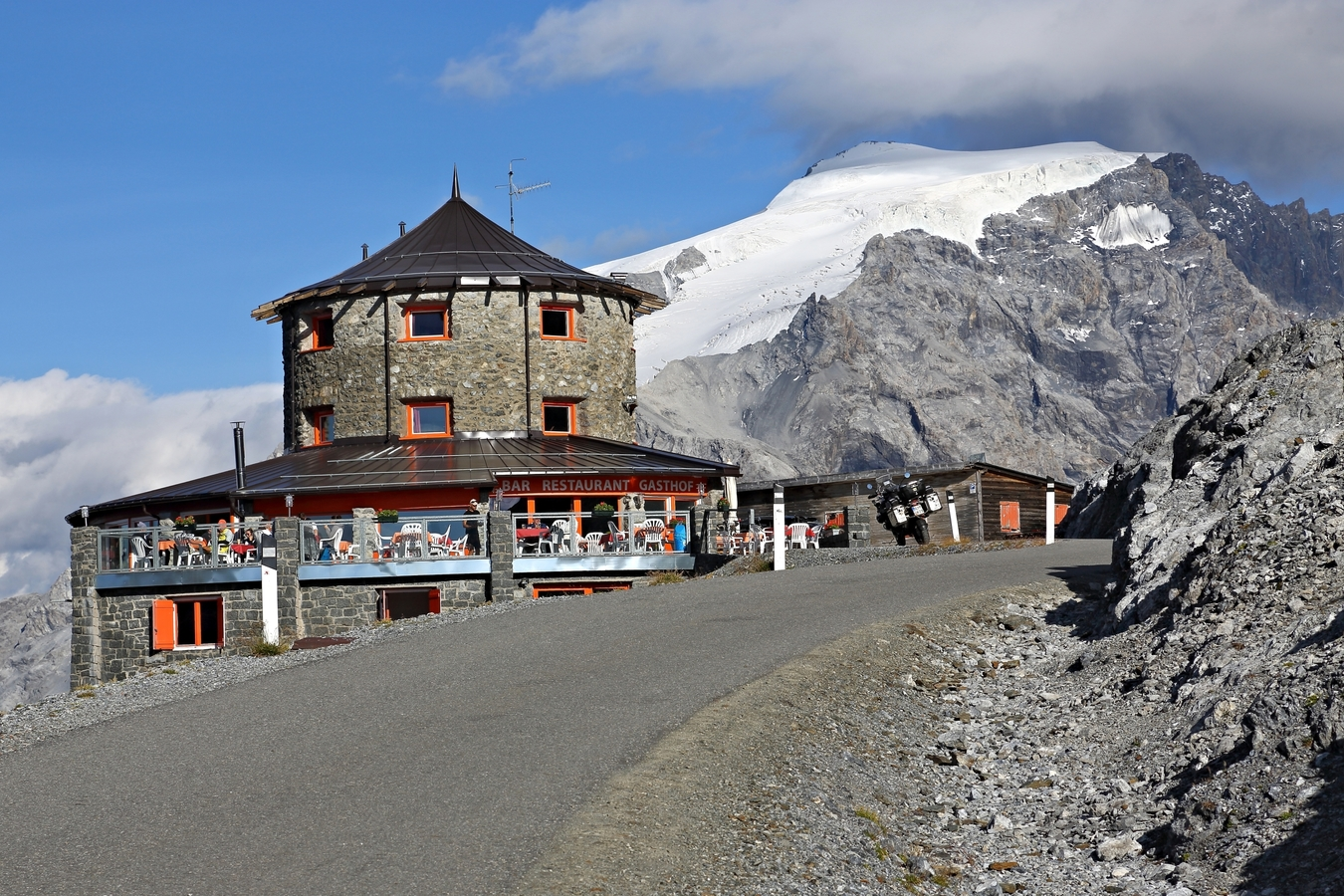 Ortler 3905 m nejvyšší hora Jižního Tyrolska