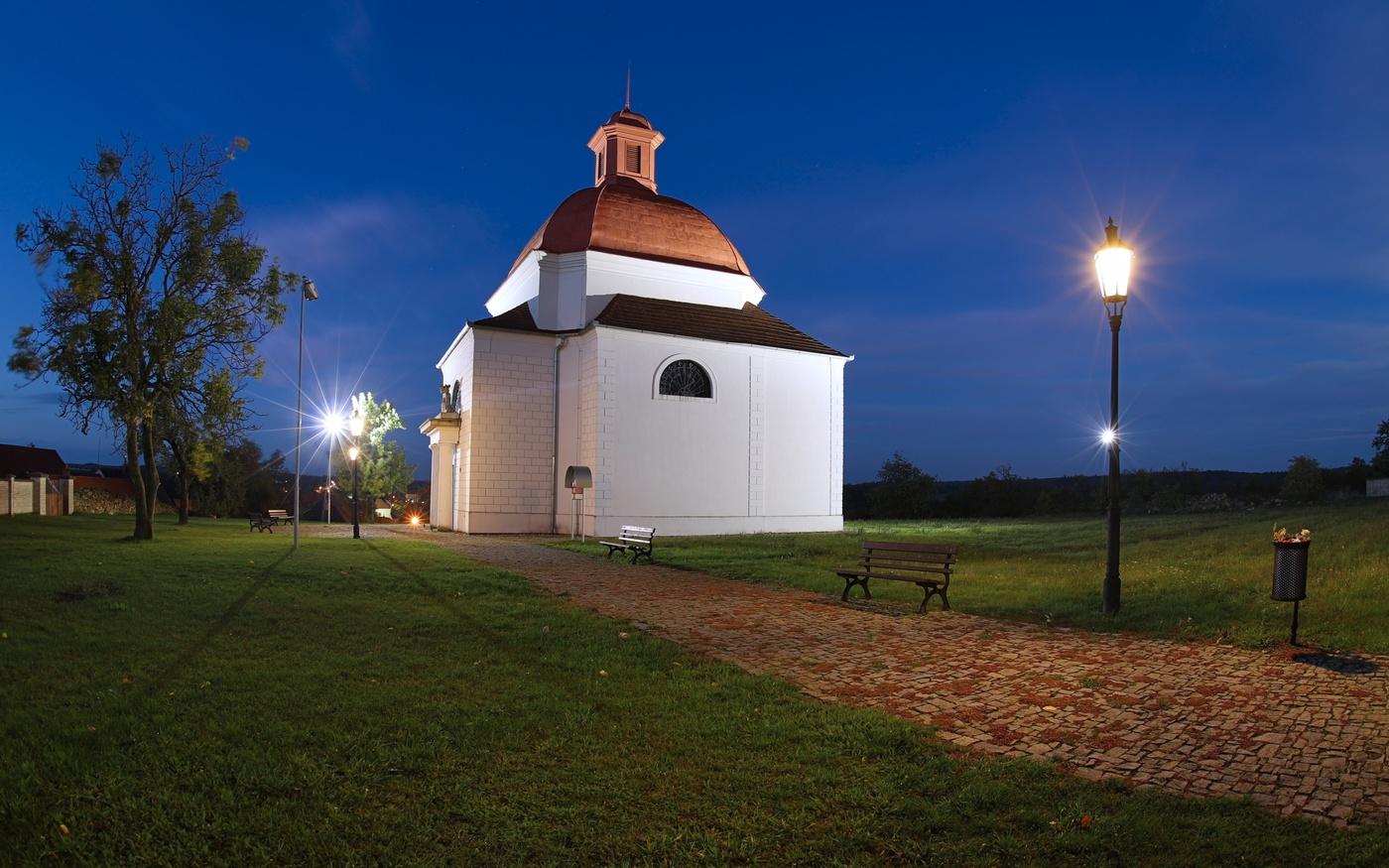 Dalešice Kaple svatého Kříže